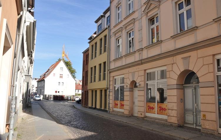 Kleine Gewerbe- / Büro- oder Praxisräume am Stralsunder Hafen zu vermieten