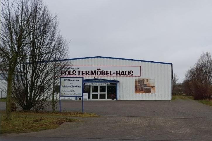 Gewerbehalle mit großem Grundstück im Gewerbe- und Industriegebiet Groß Lüdershagen zu verkaufen
